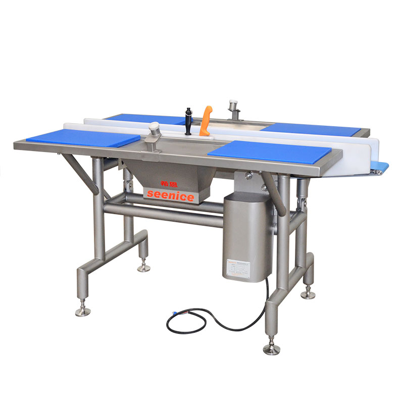 Picking And Cleaning Table With Conveyor PTX-16
